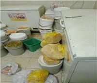 ضبط لحوم ومواد غذائية مجهولة المصدر داخل مطعم مأكولات بالقاهرة