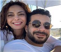 خاص| داليا مصطفى: زوجي تعرض لإصابة شديدة بسبب فيلم رعب