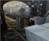 الأنبا باسيليوس يزور كنيسة مار جرجس ببني مزار بإيبارشية المنيا