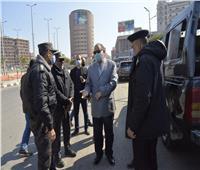 محافظ أسيوط في جولة على التمركزات الأمنية للتهنئة بعيد الشرطة