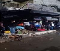 السيطرة على حريق بمحل كماليات سيارات بشبرا الخيمة