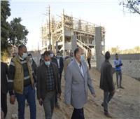 محافظ أسيوط يتفقد وحدة طب أسرة الهمامية ومدرسة عزبة الحاج أحمد