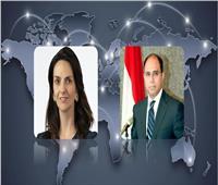 سفير مصر في كندا يلتقي سفيرة كندا للمرأة والسلم والأمن