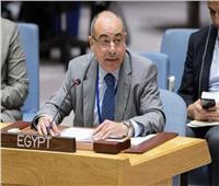 مندوب مصر الدائم بالأمم المتحدة يلتقي المبعوث الخاص الجديد لليبيا