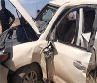 إصابة ٣ أشخاص في حادث تصادم بالدائري