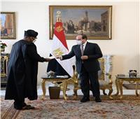 الرئيس السيسي يتسلم رسالة خطية من نظيره النيجيري