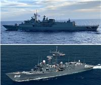مصر واليونان تنفذان تدريباً بحرياً عابراً في نطاق الأسطول الشمالي