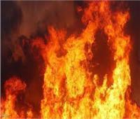 نشوب حريق هائل بمخالفات عقار سكني بمنطقة الدرب الأحمر