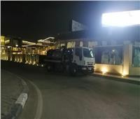 """""""الصرف الصحى"""" بالقاهرة تنشر معداتها تحسبًا لسقوط أمطار"""