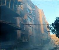 حريق سوق التوفيقية| تفاصيل 4 ساعات مرعبة عاشها بائعو قطع غيار السيارات