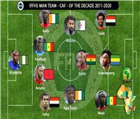اختيار محمد صلاح وأحمد فتحي ضمن أفضل 11 لاعبًا أفريقيًا في آخر 10 سنوات