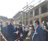 «الخشت» يعلن استكمال مستشفى ثابت الجامعي.. صور