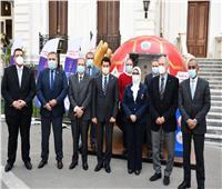 وزيرا الرياضة والصحة يستعرضان جهود الوزارتين ببطولة العالم لكرة اليد