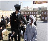 «الداخلية» تقدم مساعدات عينية لـ300 من أسر المسجونين والمفرج عنهم  صور