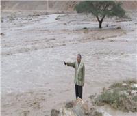 غلق طريق «وادى فيران - سانت كاترين» بجنوب سيناء بسبب الطقس السيئ