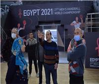 اتحاد الجمباز يتفقد صالات ستاد القاهرة قبل انطلاق كأس العالم