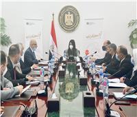 وزيرة التعاون الدولي تلتقي وفدًا عراقيًا لعرض التجربة المصرية في التعاون الإنمائي