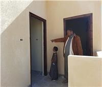 الانتهاء من تنفيذ منازل بدويه للأسر الأكثر احتياجا بقرية بهي الدين بواحة سيوة