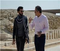 خالد النبوي يصور فيلم ترويجي للسياحة المصرية