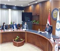 وزير البترول يستقبل وفد لجنة التعدين بغرفة التجارة الأمريكية