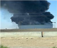 حريق في مستودع تابع لشركة أنابيب البترول بطريق «السويس- القاهرة»