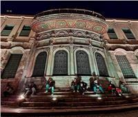 جولة داخل شارع المعز بالإضاءة الليلية الساحرة   صور