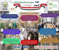 تطوير الريف المصري وبحيرة البردويل.. أبرز أنشطة الزراعة في أسبوع