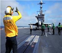 حاملات أمريكية وغواصة فرنسية ينفذون عمليات منفصلة ببحر الصين  فيديو