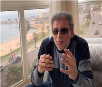 خالد يوسف يعلن تعافيه من فيروس كورونا.. فيديو