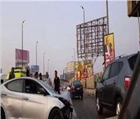 إصابة ٧ أشخاص في حادث تصادم بطريق القاهرة السويس