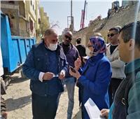 نائب محافظ القاهرة يتفقد أعمال إزالة المنازل لتوسعة الدائري