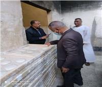 ضبط وتحرير 29 محضراً تموينياً بـ «البداري» في أسيوط
