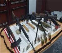 ضبط ترسانة أسلحة وذخائر وتنفيذ 81 ألف و833 حكمًا قضائيًا