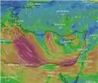 عاصفة الأمل  الأرصاد تحذر من تساقط الثلوج على مرتفعات سيناء