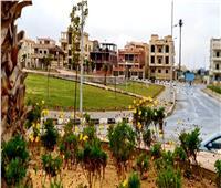 «مدينة الشروق» يواصل رفع تجمعات مياه الأمطار من الشوارع والميادين