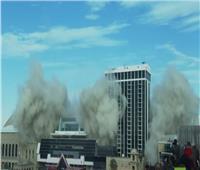 لحظة تفجير فندق وكازينو بناه «ترامب» |فيديو