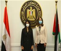 وزيرة التعاون الدولي تختتم اجتماعاتها مع وزيرة التجارة والوفد الأردني