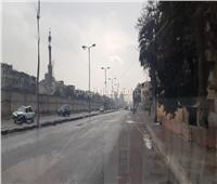 سيولة مرورية أثناء سقوط «الأمطار» بشوارع القاهرة | فيديو