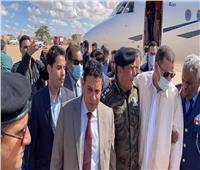 بالصور| رئيس الحكومة الليبية يصل طبرق ويلتقي عقيلة صالح