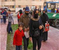 تسكين 9 عائلات من عقار «كوم الشقافة» المائل في «بشاير الخير»