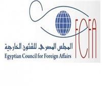 المجلس المصري للشئون الخارجية: مصر حققت إنجازات غير مسبوقة بشرق المتوسط