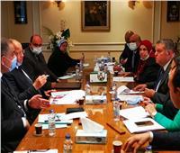 وزير قطاع الأعماليبحث تسريع إجراءات تطوير فندقي شبرد والكونتيننتال