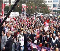 تونس.. وقفة احتجاجية للحزب الدستوري الحر في سوسة ضد «النهضة»