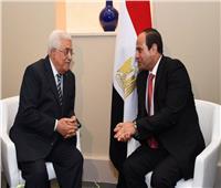«أبو مازن» يشيد بدعم مصر والرئيس السيسي للفلسطينيين