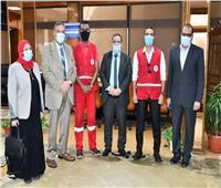 بروتوكول تعاون مشترك بين جامعة القناة والهلال الأحمر المصري