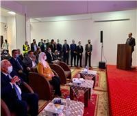 وزيرة التضامن تتفقد مركز العزيمة لتأهيل مرضى الإدمان ببورسعيد