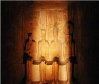 شعاع النور  شاهد على عبقرية المصري القديم  في تعامد الشمس على أبوسمبل