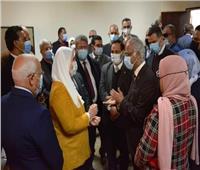 تفعيل برتوكول وحدة التضامن الاجتماعي بجامعة بورسعيد