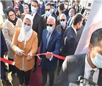 وزيرة التضامن و«الغضبان» يفتتحان «كشك أخلاق» في بورسعيد
