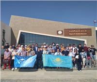 رجال الأعمال الأجانب في زيارة لمتحف آثار شرم الشيخ